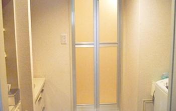 浴室ドア交換